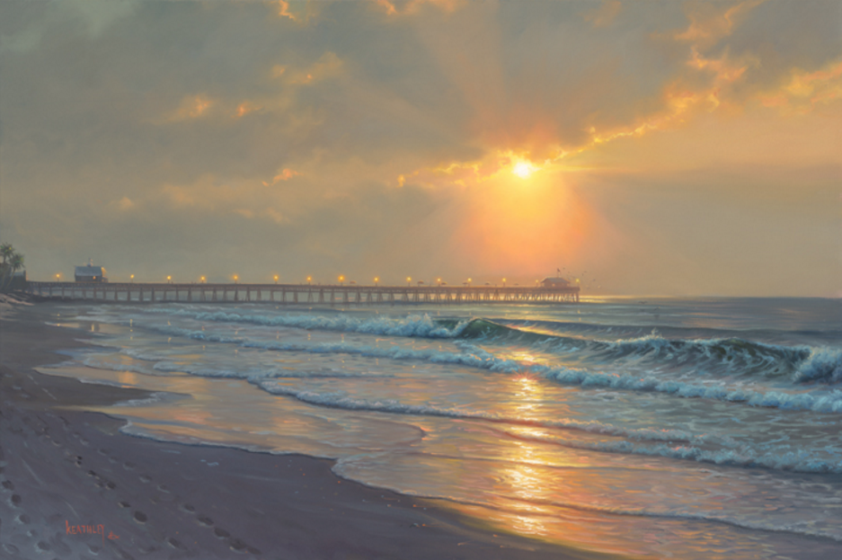 Radiant Sunrise by Mark Keathley